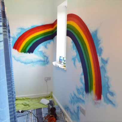 Isla's mural after copy